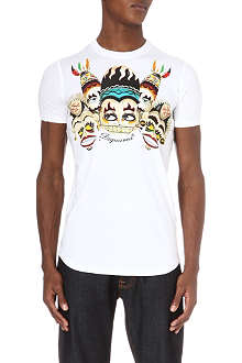 D SQUARED Tribal printed t-shirt