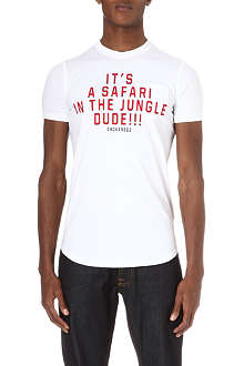 D SQUARED Safari in the jungle t-shirt