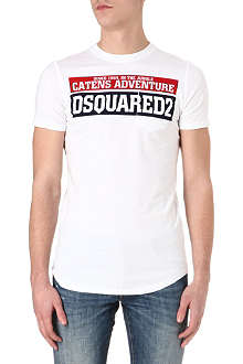 D SQUARED Catens Adventure pocket T-shirt