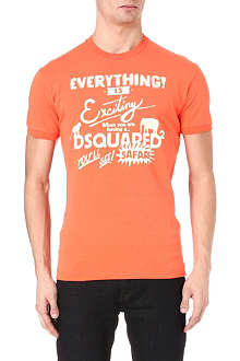 D SQUARED Everything is exciting t-shirt