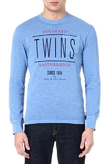 D SQUARED Twins pocket sweatshirt