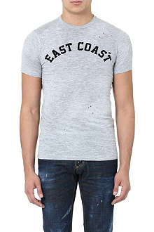 D SQUARED East Coast cotton t-shirt