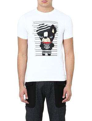 D SQUARED Dog Mugshot t-shirt