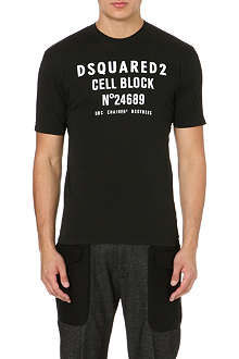 D SQUARED Cell Block cotton t-shirt