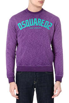 D SQUARED Jungle experience sweatshirt