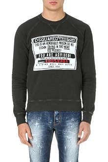 D SQUARED Prison Notice sweatshirt