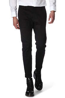 D SQUARED Slim fit stretch cotton trousers