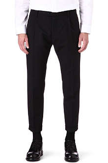 D SQUARED Cropped slim-fit trousers