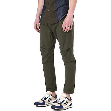 D SQUARED Slim-fit combat trousers (Green
