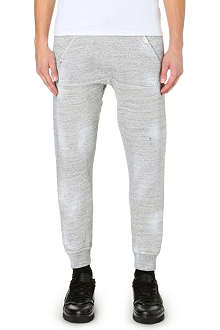 D SQUARED Slant pocket cotton-jersey jogging bottoms