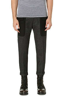 D SQUARED Flap pocket trousers
