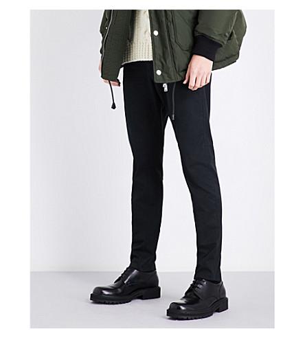 DSQUARED2 Denim-waist slim-fit tapered jeans (Black