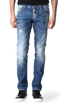 D SQUARED Slim-fit straight jeans