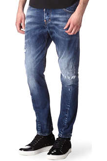 D SQUARED Kenny Twist slim-fit tapered jeans