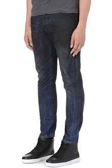 D SQUARED Kenny twisted slim-fit oil wash jeans