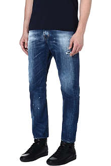 D SQUARED Classic Kenny twist regular-fit tapered jeans