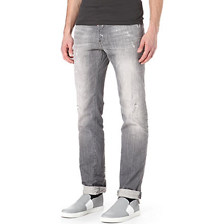 D SQUARED Dean regular-fit straight jeans (Grey