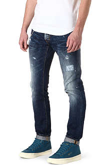 D SQUARED Cool Guy slim-fit wallet chain jeans