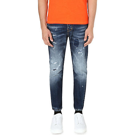 D SQUARED Kenny slim-fit tapered jeans (Blue