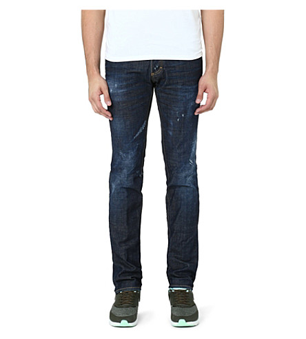 D SQUARED Rookie slim-fit straight jeans (Blue
