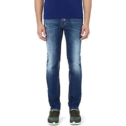 D SQUARED Dean slim-fit straight jeans (Blue