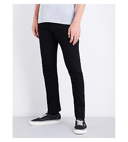 DSQUARED2 Sexy Twist slim-fit skinny jeans (Black