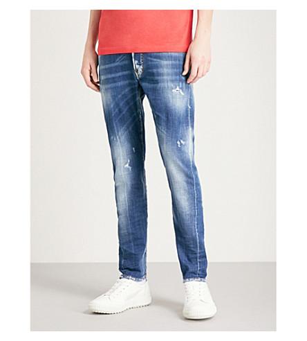 DSQUARED2 Kenny slim-fit skinny jeans (Blue