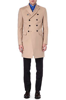 D SQUARED Double-breasted wool-blend coat