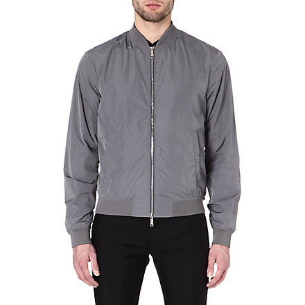 D SQUARED Zip-up bomber jacket (Grey