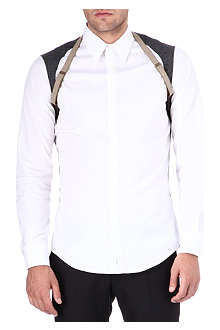 D SQUARED Slim-fit harness shirt