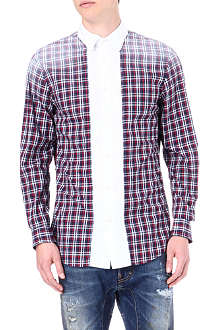 D SQUARED Faded checked shirt