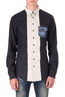 D SQUARED Check flannel shirt
