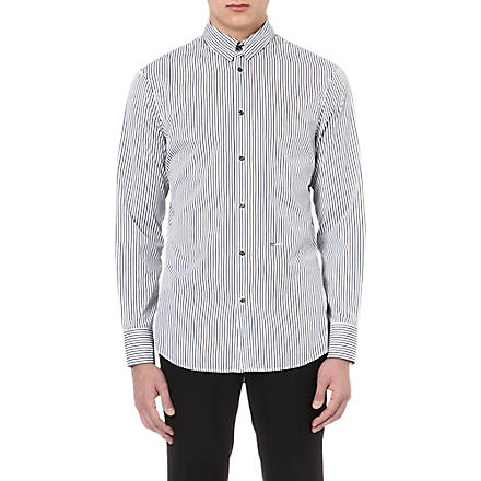 D SQUARED Striped shirt (Blue/brown