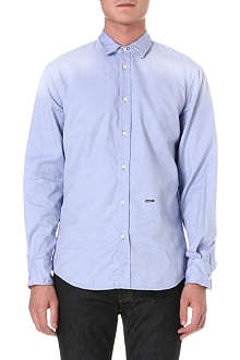 D SQUARED Wire-collar Oxford shirt