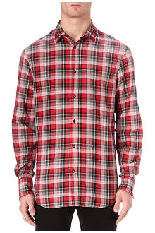 D SQUARED Checked metal shirt