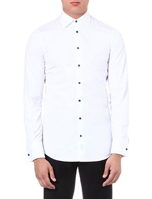 D SQUARED Contrast-button shirt