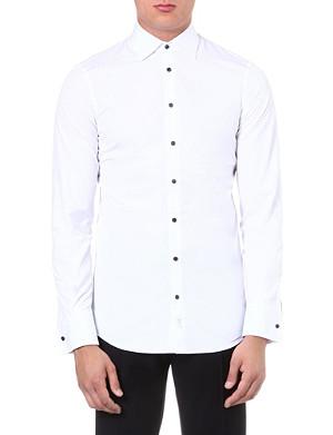 D SQUARED Contrast-button shirt