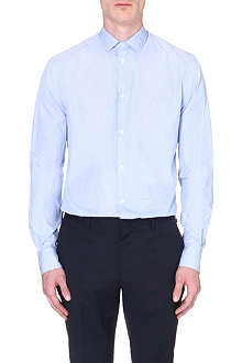 D SQUARED Pin-striped cotton shirt