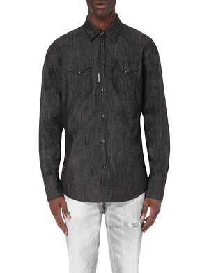 D SQUARED Regular-fit denim shirt