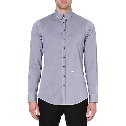 D SQUARED Mini-gingham shirt (Navy