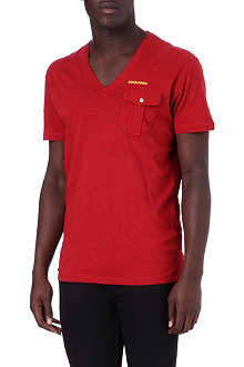D SQUARED Chest-pocket t-shirt