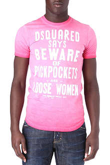 D SQUARED Dsquared Says Beware t-shirt