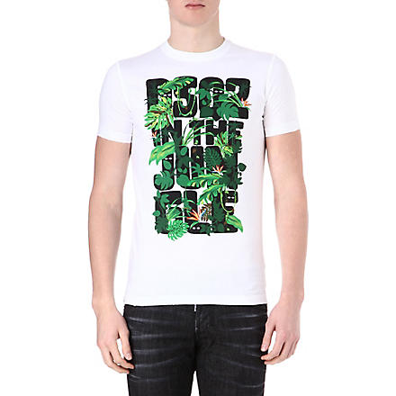 D SQUARED In The Jungle t-shirt (White