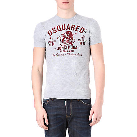 D SQUARED Jungle Jim t-shirt (Grey