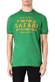 D SQUARED Twins Safari t-shirt