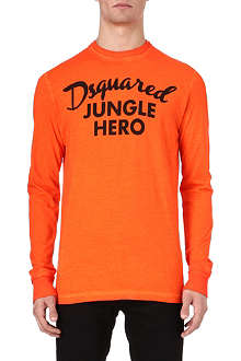 D SQUARED Jungle Hero long-sleeved top