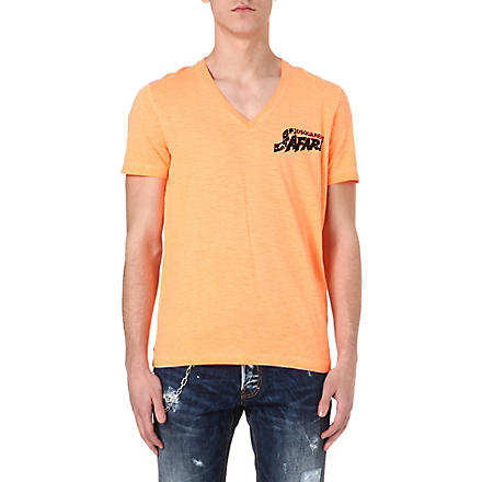 D SQUARED Safari t-shirt (Orange