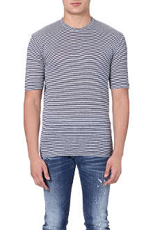 D SQUARED Striped t-shirt