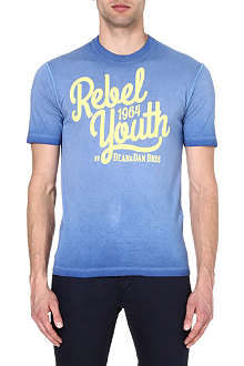 D SQUARED Rebel Youth cotton t-shirt