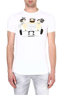 D SQUARED Jail Weight t-shirt